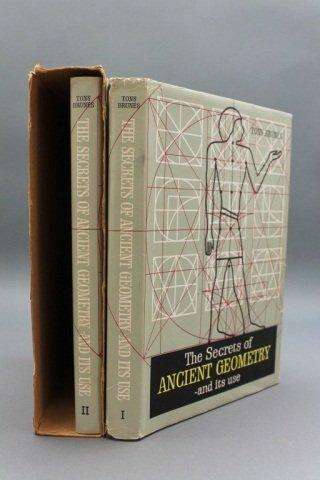 Brunes. THE SECRETS OF ANCIENT GEOMETRY... 2 Vols.