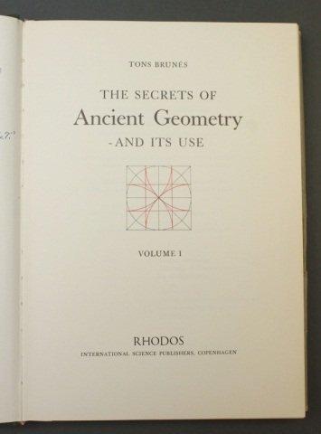 Brunes. THE SECRETS OF ANCIENT GEOMETRY... 2 Vols. - 2