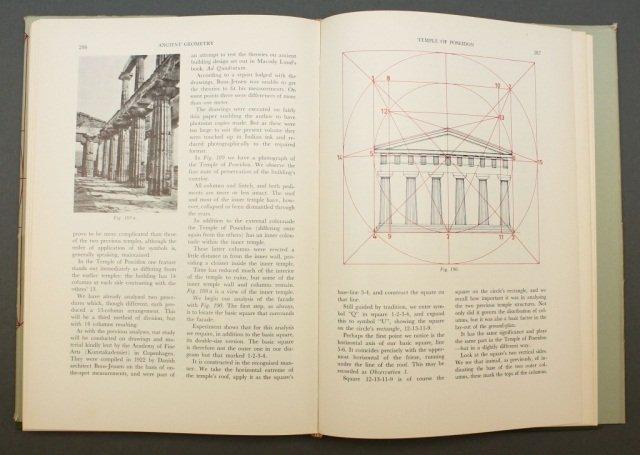 Brunes. THE SECRETS OF ANCIENT GEOMETRY... 2 Vols. - 4