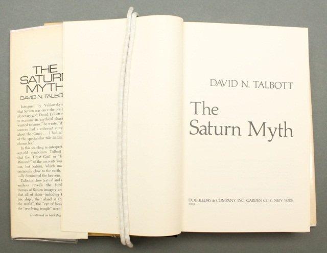 Talbott. THE SATURN MYTH. 1980. 1st edition. - 2
