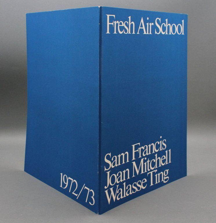 FRESH AIR SCHOOL. 3 original color lithographs.