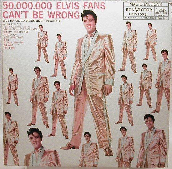 404: Elvis' Golden Records  volume 2 (M) LPM-