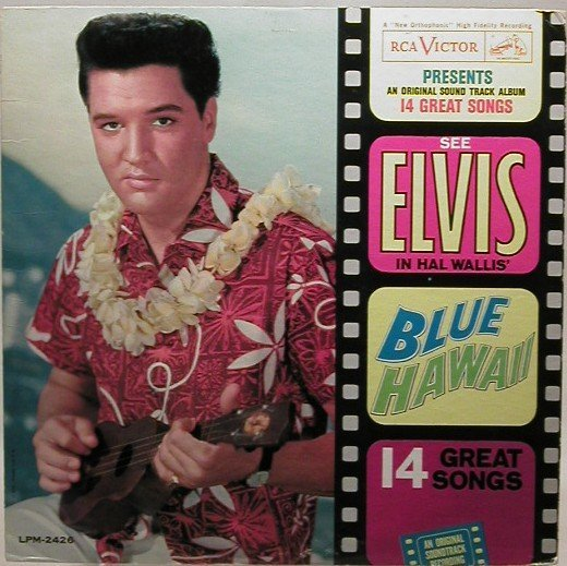 407: Two Elvis  LP record albums