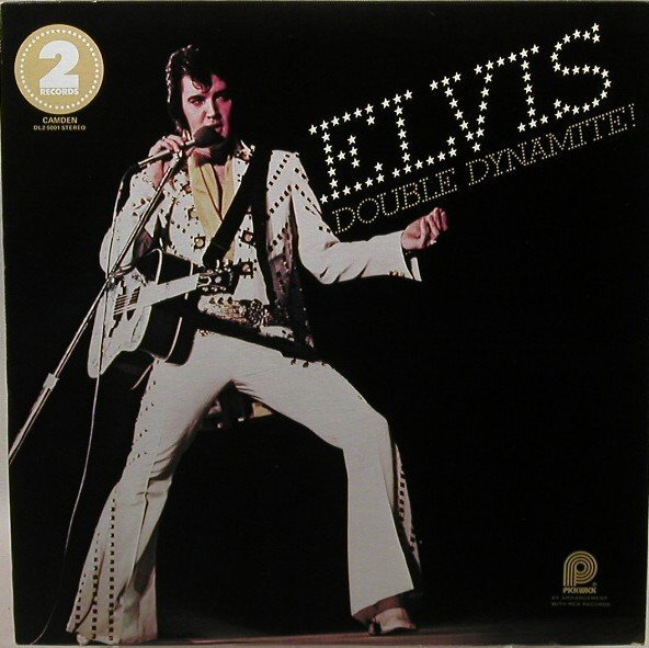 408: Four Elvis  LP record albums