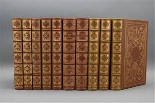 THE COMPLETE WORKS OF AUDUBON. 10 Vols. 1978.