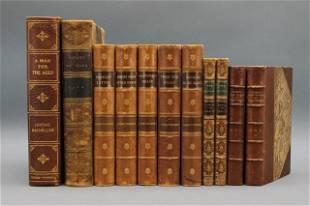 11 Vols: Hawthorne, Goldsmith, other authors.