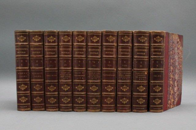 TALES AND NOVELS BY MARIA EDGEWORTH. 10 Vols 1874.