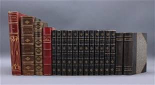 18 Vols: Fielding, Max Beerbohm, Tennyson...
