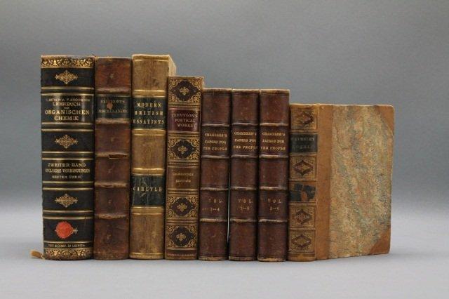 11 Vols incl: Bancroft. LITERARY AND HISTORICAL...