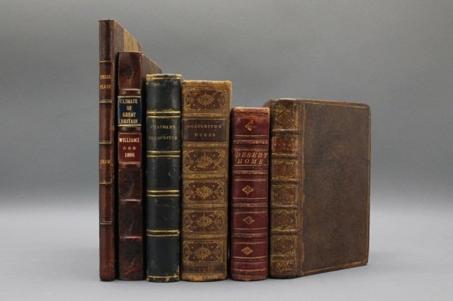6 Books incl: THE CLIMATE OF GREAT BRITAIN. 1806.