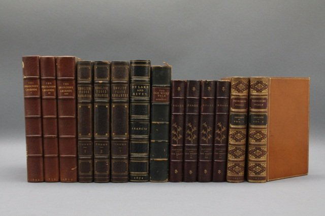14 Vols: Ingoldsby, fishing, Reade, others.