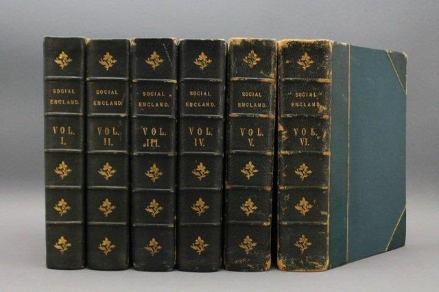 SOCIAL ENGLAND. 6 Vols. (1901)-(1904).