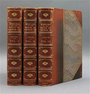 Memoirs of the LIfe and Reign... George... 3 Vols.