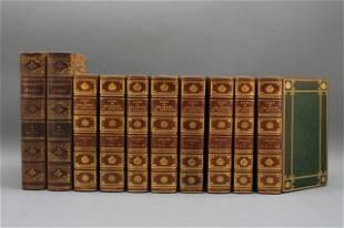 10 Vols incl: LIVES OF THE QUEENS... 8 Vols.