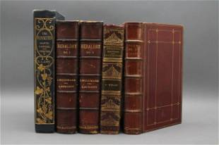 5 Vols incl: A TREATISE ON HERALDRY. 2 Vols. 1892.