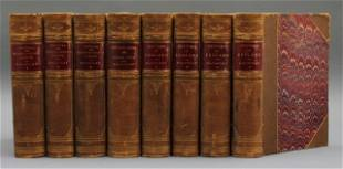 (THE WORKS OF LORD MACAULAY.) 16 Vols in 8. 1878.