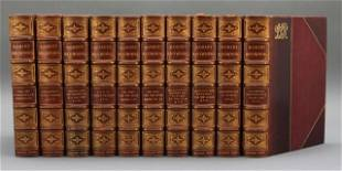 THE WORKS OF ROBERT BROWNING. 10 Vols. 1912.