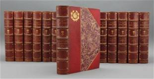 THE WORKS OF LORD BYRON. 16 Vols. 1900. #6/150.