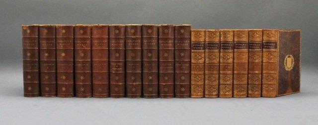 16 Vols: Edmund Burke, 6 Vols, 1901-03 + Carlyle.