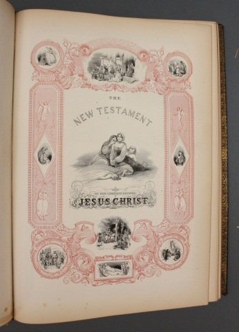 THE ILLUMINATED BIBLE. Harper & Brothers, 1846. - 7