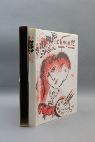 THE LITHOGRAPHS OF CHAGALL. Vol III. 2 lithographs