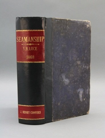 SEAMANSHIP. Signed by 1st black midshipman.