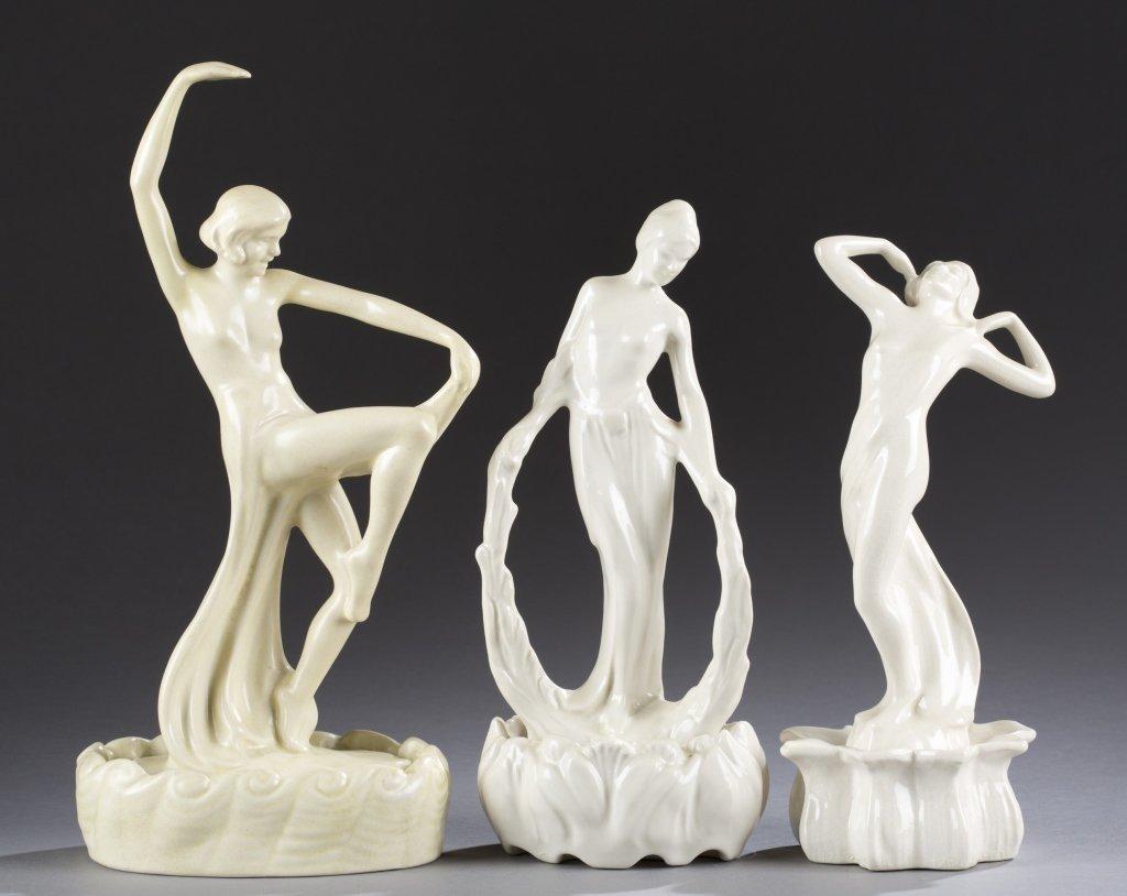 A Cowan Pottery group of  figures, Loveliness,  Laurel