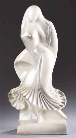 A Cowan Pottery Nautch Dancer by Waylande Gregory. c.