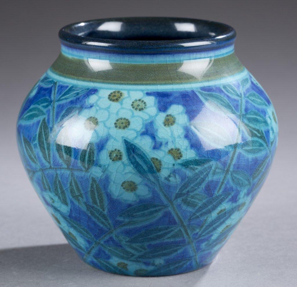 A Rookwood vase by Kataro Shirayamadani. 1926.  Cobalt