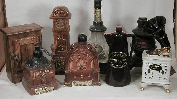 601: Collection of Six Household Decanters