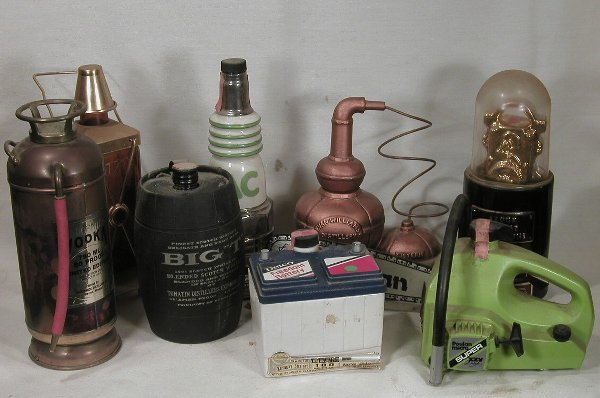 603: Collection of Six Decanters