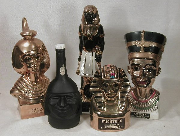607: Ancient Figure Decanters