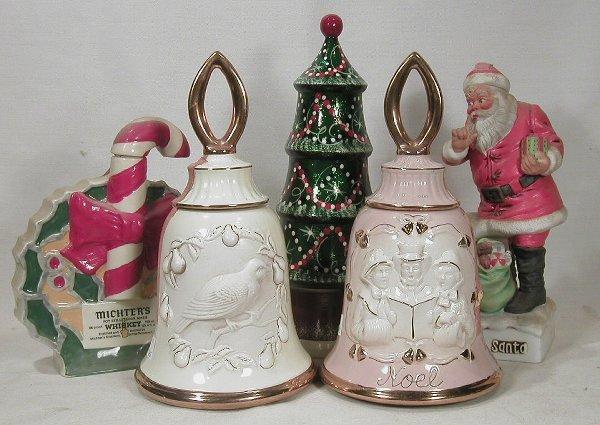 613: Christmas Decanters