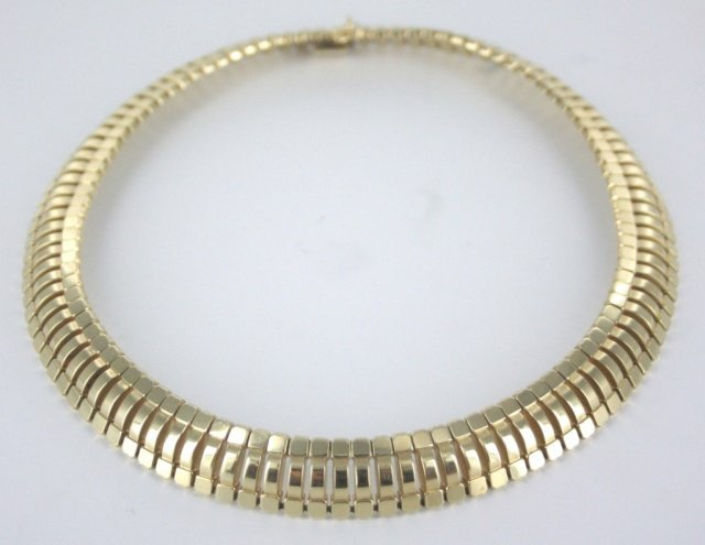 14kt yellow gold necklace.
