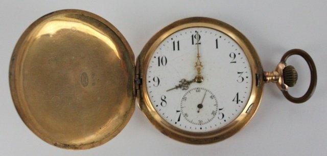 one 585 brevete pocket watch.