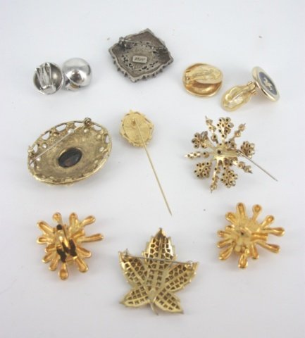 Lot of designer costume jewelry.