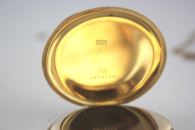 Henry Birks and Sons Limited gold pocket watch. - 2