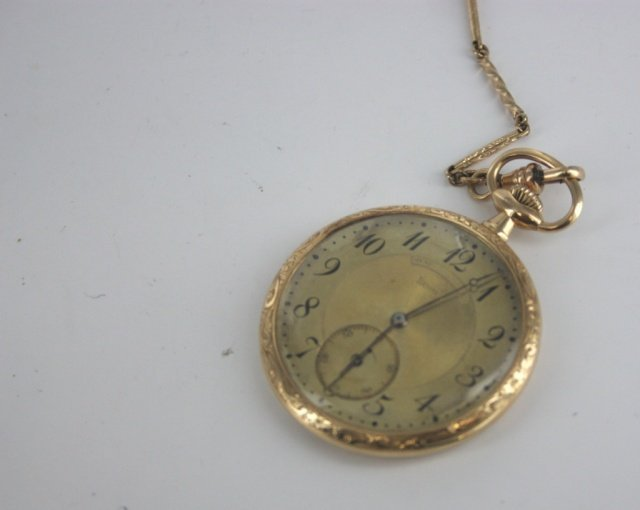 Henry Birks and Sons Limited gold pocket watch. - 4