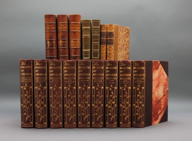 17 Vols incl: THE MAKING OF AMERICA.  770/1000.