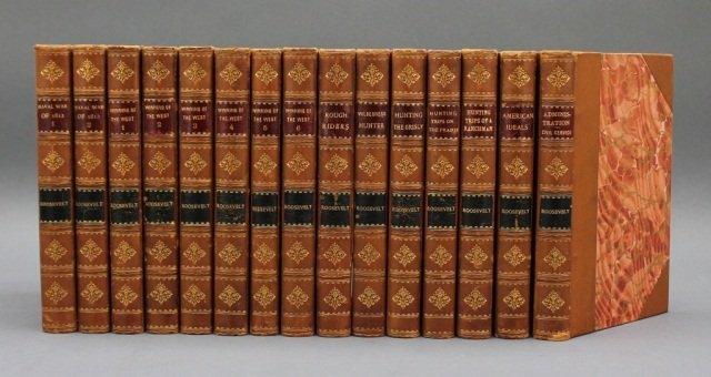15 Vols by Theodore Roosevelt. Putnam's, 1900.