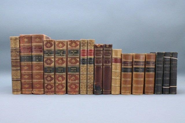 17 Vols: Trollope, Dickens, Swift, Noyes, others.