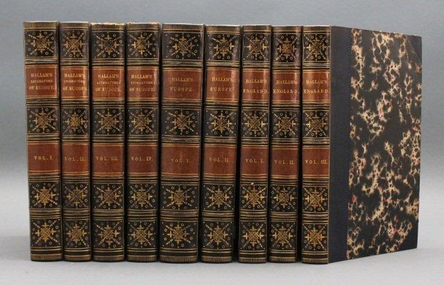 Henry Hallam. 9 Vols. 1839-1841. [British/European