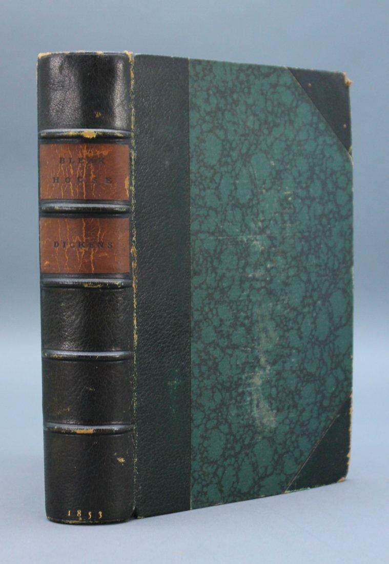 BLEAK HOUSE. 1853. 1st ed. book form. 40 plates.