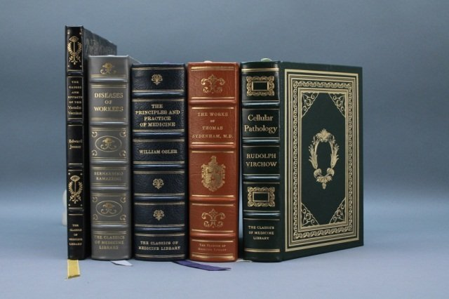 5 Classics of Medicine Library. Osler, Virchow...