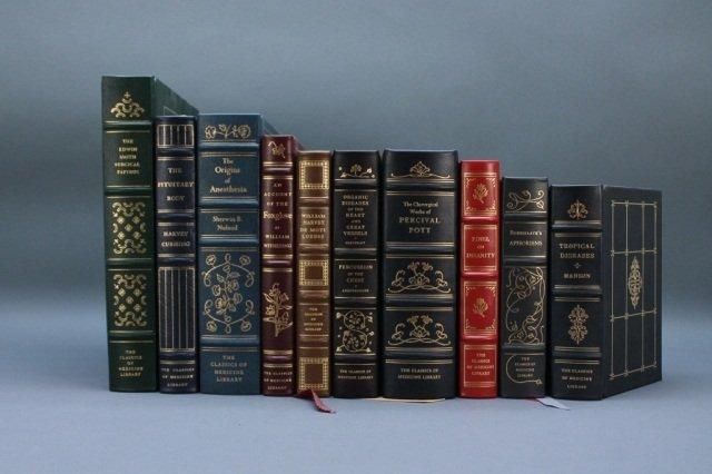 10 Classics of Medicine Library: Harvey, Manson...