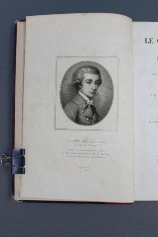 LE COMTE DE FERSEN... 2 Vols. 1877-1878.