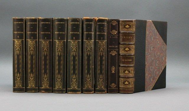 9 Vols: Sainte-Beuve, Loti, Du Maurier.