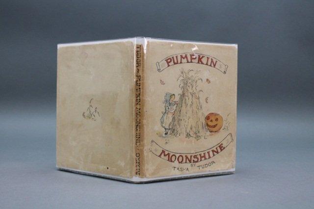 Tudor. PUMPKIN MOONSHINE. 1st ed in dustjacket.