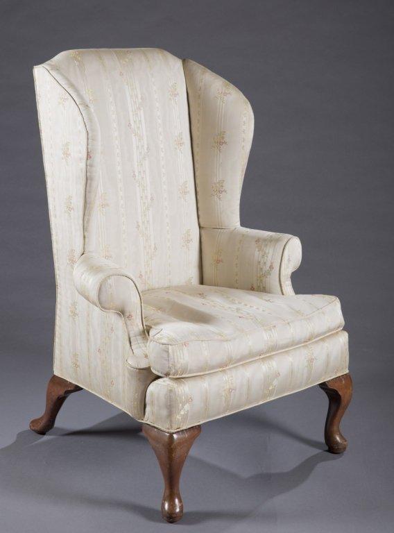 Queen Anne easy chair.