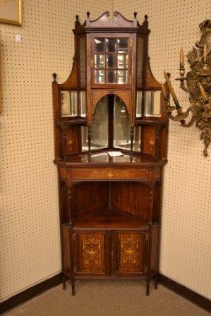 T.Simpson & Sons corner cabinet